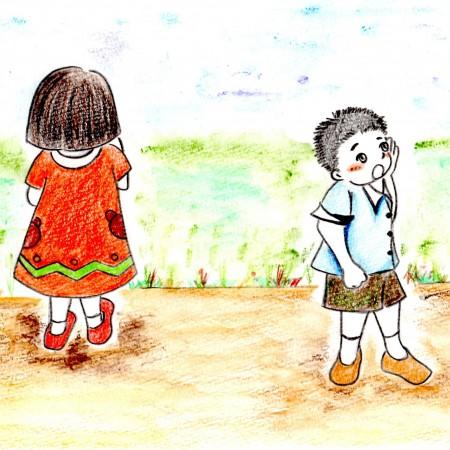 ぐるぐるとおせんぼ  (4/4)