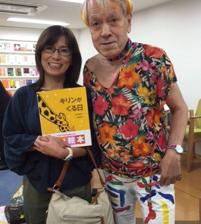 志茂田景樹先生の読み聞かせに参加!!