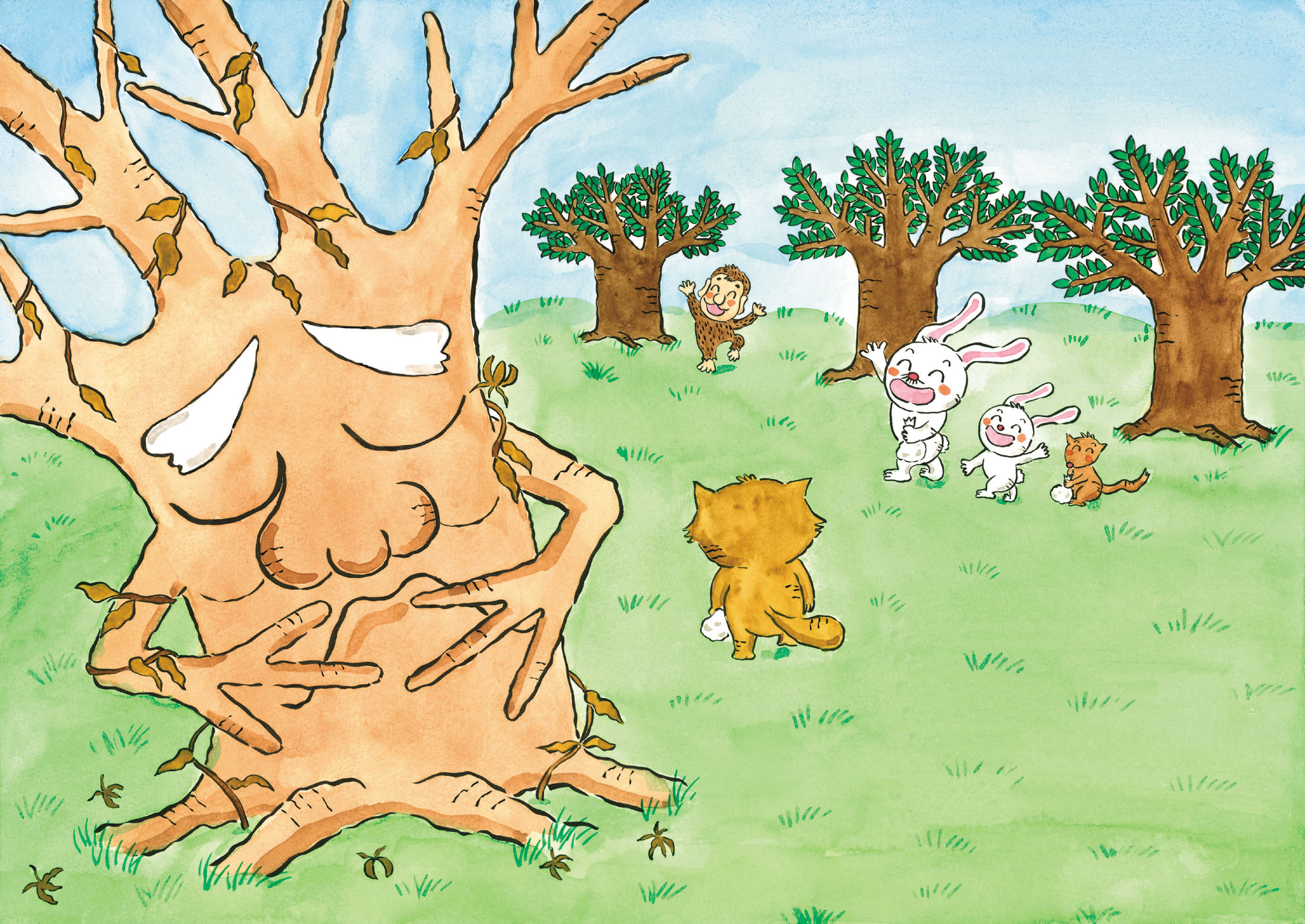 あさがおの木3-1