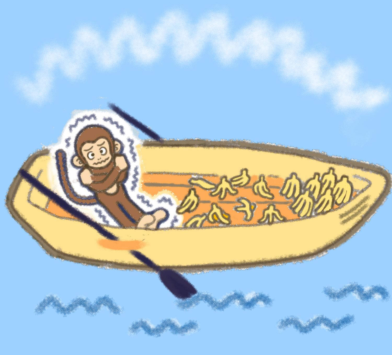 バナナが食べたいシロクマくん3-1