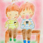 まりもの1日1絵(2017/4/7~4/10)