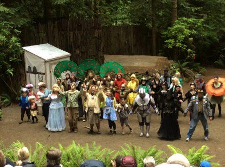 森の中の劇場で