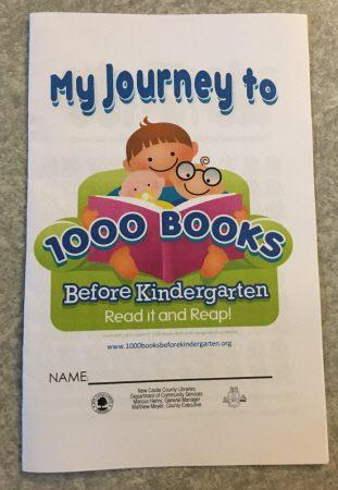 幼稚園までに1000冊の本を読もう!