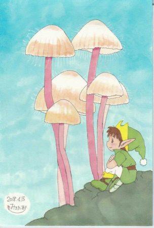 きのこと妖精⑨