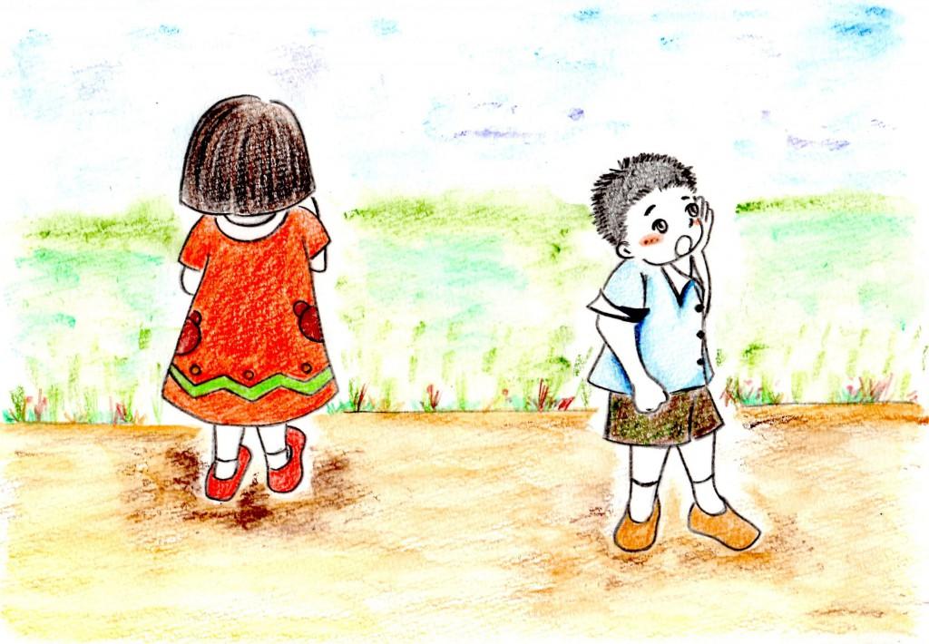 写本 -シマ吉をさがすアカネとトオル
