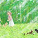 あみーちゃん はるの ききゅうたいかい(6/6)