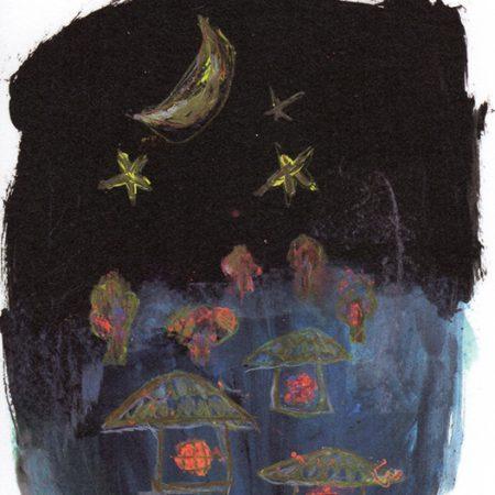 聖柄さぎりさんが「月光荘 ムーンライト展2018」に入選